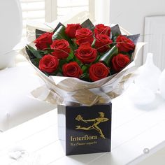 Dramatic Dozen - Classic, beautiful and wonderfully expressive – a dozen red roses is a wonderful way to let her know how you feel this #ValentinesDay. This rose bouquet includes twelve of the finest quality Freedom roses, carefully arranged and packaged to show off their natural beauty perfectly.