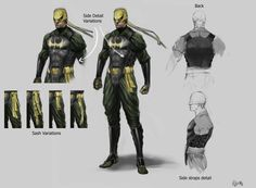 Iron Fist Marvel | IronFist Fan: Marvel Ultimate Alliance 2 -Iron Fist Concept Arts