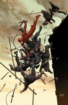 Frank Quitely's Daredevil