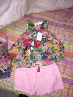 2016 estilo verão do bebê roupas de menina de moda roupas da menina do algodão conjunto Colete casuais Camisa Flor impresso + Shorts 2 pcs crianças ternos Loja Online | aliexpress móvel