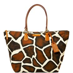 Dooney and Burke Giraffe, have this pattern Dooney and Burke purse just different style...love it!