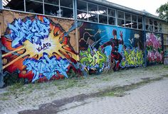 Graffiti Houtman Coating Leeuwarden (NL) August 2010 art kunst streetart in Friesland the Netherlands Photo by: Jascha Hoste