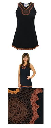 Lei of Crochet Tunic at The Animal Rescue Site $22.00