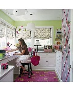 craft room, I love t
