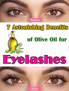7 Astonishing Benefits of Olive Oil for Eyelashes – cosmeticgirl Olive Oil For Eyelashes, Coconut Oil Eyelashes, Coconut Oil Pulling, Coconut Oil For Face, How To Grow Eyelashes, Longer Eyelashes, Coconut Benefits, Perfume, Natural Lashes