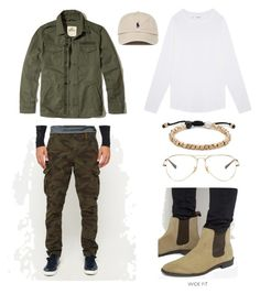 """#5"" by tia-dawn-marie-martinez on Polyvore featuring Hollister Co., Superdry, ASOS, Ray-Ban, Lokai and Sefton"