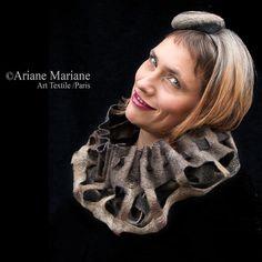 Hey, diesen tollen Etsy-Artikel fand ich bei https://www.etsy.com/de/listing/206227168/felted-snood-women-cowl-scarf-paris