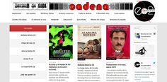Encadenados es una revista de cine que comenzó su trayectoria en la década de los noventa,  hasta convertirse hoy en día en una publicación online. Muy peculiar sobre todo en el modo de organizar los artículos. Siempre se incluyen dentro de un monográfico nombrado como una película, tema o director de cine, siguiendo de esta la costumbre de las revistas de cine clásicas.