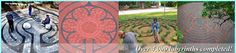 The Labyrinth Company--paver kits, stencils for sand blasting concrete, garden templates