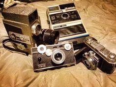 vintage cameras always remind me of my Darling Daddy!