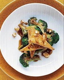 Tofu and Broccoli Stir Fry
