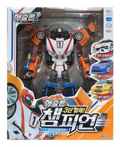 Tobot Athlon Champion 3 X Transformer Copolymer Robot Rescue Sports Team Toy for sale online Toy Packaging, Weekend Crafts, Robot Action Figures, My Buddy, Toy Sale, Kids And Parenting, Transformers, Champion, Hero