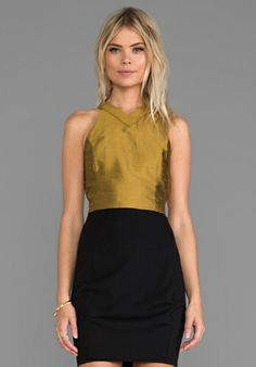 harlyn Cut Out Crop Top