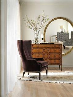 Mirror, Mirror On The Wall!- neutral + natural + round mirror