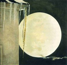 Andrew Wyeth  I love his tender , washy interpretations of traditional American life and interiors. Simple but powerful