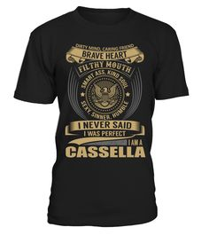 CASSELLA - I Nerver Said