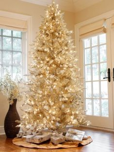 d4a229de349d Pre-Lit Layered Platinum Frasier Fir Christmas Tree by Sterling Tree  Company - Get your holiday on with the Layered Platinum Frasier Fir Clear.