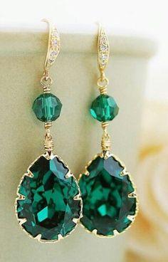 . emeralds, i think