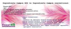 Ingrediente Sampon BIO vs Ingrediente Sampon conventional Salvia, Avocado, Movie Posters, Plant, Film Poster, Film Posters
