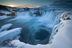 """Goðafoss """"Waterfall of the Gods"""" - North Iceland"""