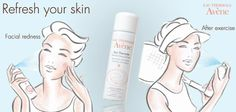 The Avene Woman is an active, busy woman, always running from one point to the other. Carry your Avene Thermal water spray 50ml with you to instantly refresh your skin during or after any effort!  Say goodbye to facial redness, and look the best at any moment of the day Click here to know more about Avene Thermal Water properties: http://bit.ly/1e8X9MV
