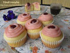 Tündi konyha: Puncsos cupcake Izu, Mini Cupcakes, Muffin, Food, Hungary, Essen, Muffins, Meals, Cupcakes
