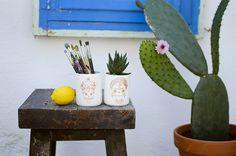 """Las Divinas"" porcelain 100% handmade in Barcelona. By Anne Decis & Blowawish blowawish.com White Porcelain, Decoration, Planter Pots, Ceramics, Flowers, Inspiration, How To Make, Handmade, Design"