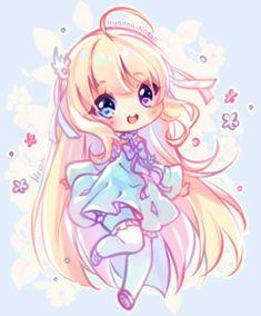 Commission - alia by hyanna-natsu kawaii art, kawaii chibi, anime kawaii, Chibi Kawaii, Cute Anime Chibi, Kawaii Anime Girl, Anime Art Girl, Chibi Girl Drawings, Cute Kawaii Drawings, Chibi Drawing, Arte Do Kawaii, Kawaii Art