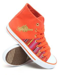 Love this Kivo Aztec Side Canvas Sneaker by Apple Bottoms on DrJays. Take a look and get 20% off your next order!