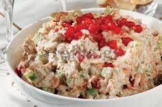 Χριστουγεννιάτικη_κοτοσαλάτα Cookbook Recipes, Cooking Recipes, Dairy Free Keto Recipes, Christmas Cooking, Christmas Recipes, Food Categories, Salad Bar, Appetisers, Greek Recipes