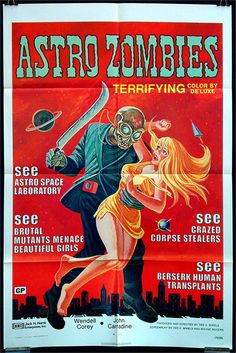 When aliens in leisure suits aren't overkill enough...ZOMBIES!!