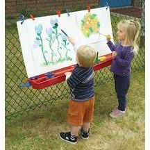 Hanging Double Fence Easel