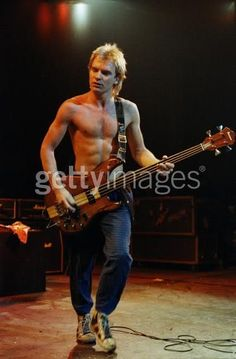 A shirtless Sting is a beautiful Sting.