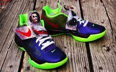 """Nike Zoom KD IV """"Joker"""" Custom"""