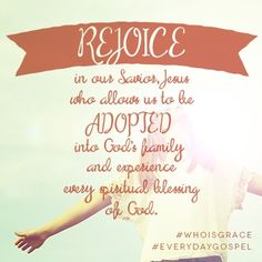blog - Adopted through Christ