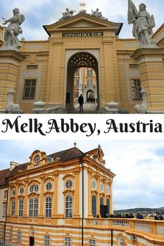 Click to find out why you need to visit Melk Abbey in Melk, Austria!