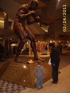 Joe Louis @ Cobo~ Detroit, MI.