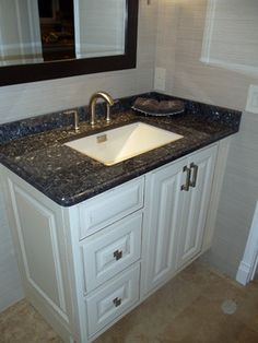 Blue Pearl Granite Countertop Design Ideas Pictures Remodel And Decor