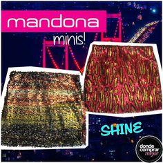 ¡Brillá esta noche con las minis de Mandona Tienda! ¡Increíbles! www.dondecomprarmejor.com/mandona