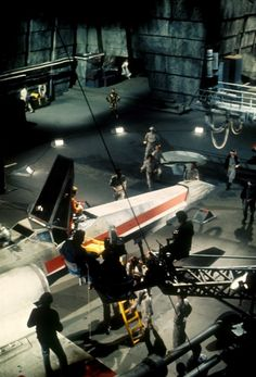 On the set of Star Wars: Episode IV - A New Hope (1977)