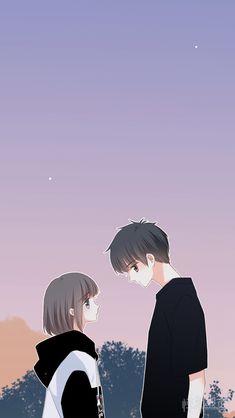 ideas for anime art coupel girls Anime Cupples, Anime Amor, Chica Anime Manga, Anime Chibi, Kawaii Anime, Anime Guys, Cute Couple Drawings, Anime Couples Drawings, Anime Couples Manga