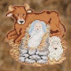 Mill Hill Nativity - Baby Jesus - Christmas Cross Stitch Kit
