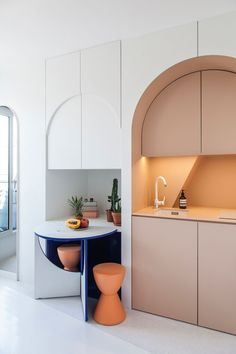 Micro Living: 11-square-metre Apartment in Paris by Batiik Studio | Yellowtrace
