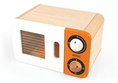toy wooden MICROWAVE