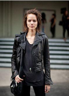 Women leather jacket leather coat orginal lamb by RALstyleSHOP, $105.00