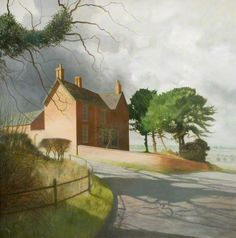 High Offley by Douglas Wilson    Date painted: 1950–1952