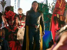 Loki is always flirting with the ladies. Hee likes the ladies!