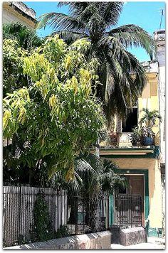 Fachada de la vivienda. en la Plaza del Cristo. Plaza, Colonial, Christ, Havana