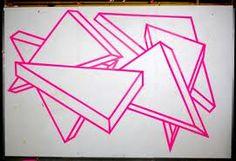 Alex Menocal -tape wall art