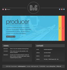 For David Gullotto, composer, multi-instrumentalist, songwriter, music producer and music teacher, we have created a new, modern and functional website. The goal was to structure a site that would make clear the different types of work produced by the artist, dividing the navigation in the three sections Producer, Songwriter and Composer. #website #webdesign #webdevelopment #html5 #css #js #jquery #adminio #artist #music